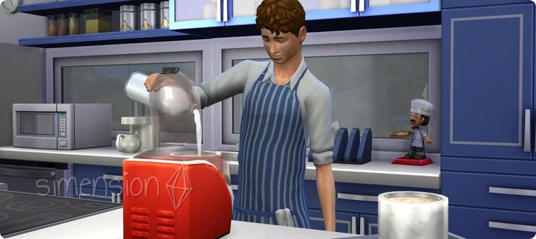 Coole Küchen Accessoires mit neuem Objekt Eismaschine