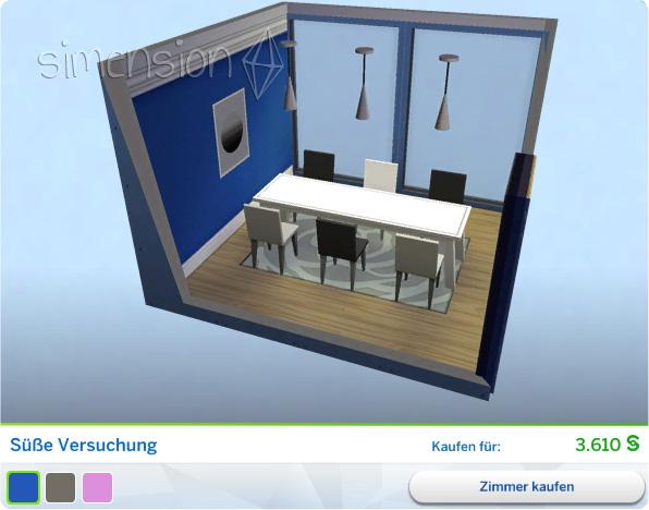 Die Sims 4 Coole Küchen-Accessoires mit Gestaltetem Zimmer Süße Versuchung