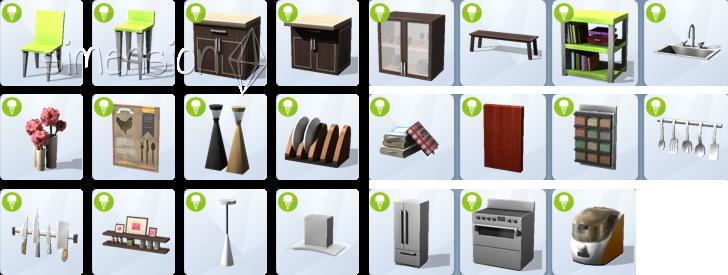 Die Sims 4 Coole Küchen-Accessoires mit neuen Objekten im Kaufkatlog