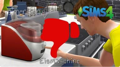 Die Sims 4 Eismaschine