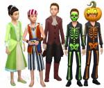 Die Sims 4 Grusel-Accessoires mit Kinderverkleidungen