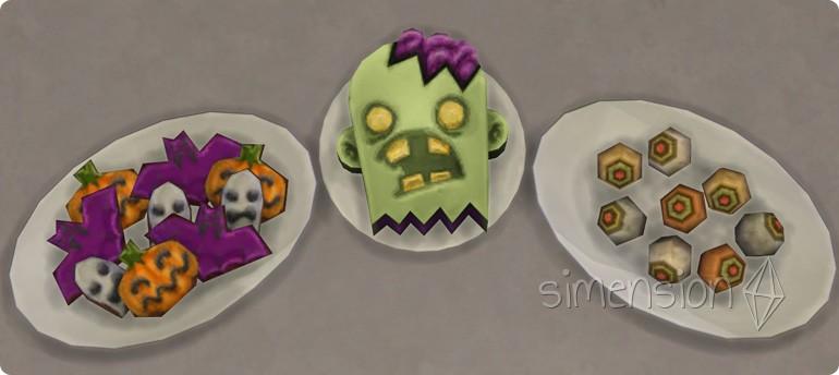 Neue Rezepte in Die Sims 4 Grusel-Accessoires