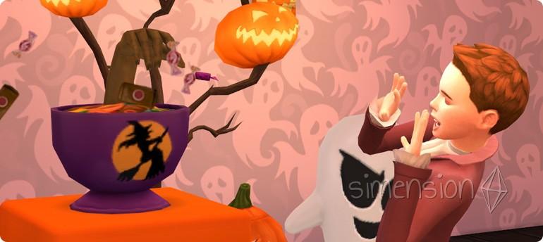 Süßigkeitenschüssel des Schreckens in Die Sims 4 Grusel-Accessoires