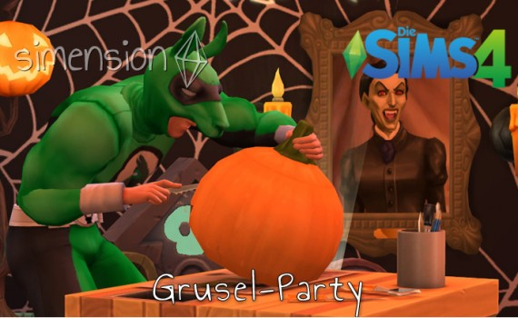 Die Sims 4 Grusel-Party