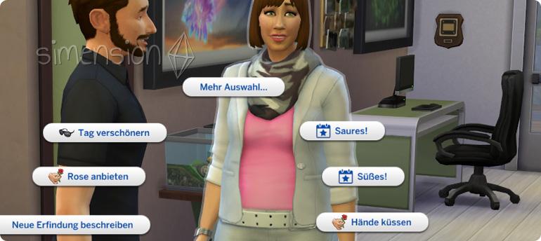 Die Sims 4 Halloween Interaktionen Süßes! und Saures!