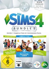 Die Sims 4 Bundle 2 mit Outdoor-Leben, Coole Kücken und Grusel
