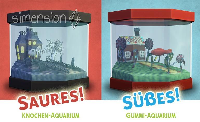 Die Sims 4 Süßes oder Saures: Aquarien