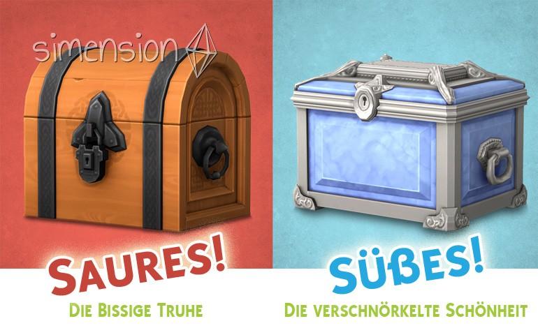 Die Sims 4 Süßes oder Saures: Truhen