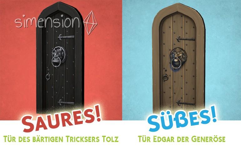 Die Sims 4 Süßes oder Saures: Türen