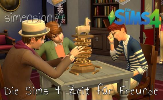 Die Sims 4 Zeit für Freunde verschoben auf 10. Dezember