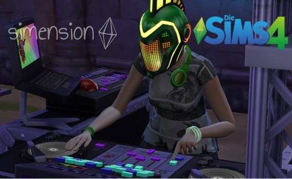 Die Sims 4 Fähigkeit DJ-Mixen