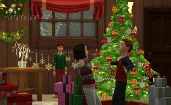 Die Sims 4 Weihnachten
