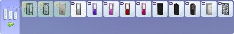 Die Sims 4 Zeit für Freunde Baumodus mit neuen Türen