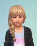 Die Sims 4 Zeit für Freunde mit neuen Frisuren für Mädchen