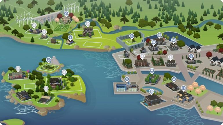 neue Welt Windenburg in Die Sims 4 Zeit für Freunde