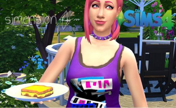 Die Sims 4 Bestreben Grillkäse