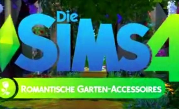 Die Sims 4 Romantische Garten Accessoires