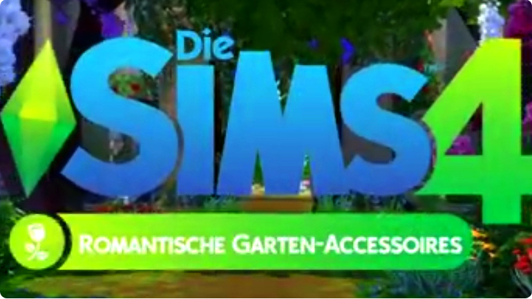 die sims 4 romantische garten accessoires. Black Bedroom Furniture Sets. Home Design Ideas