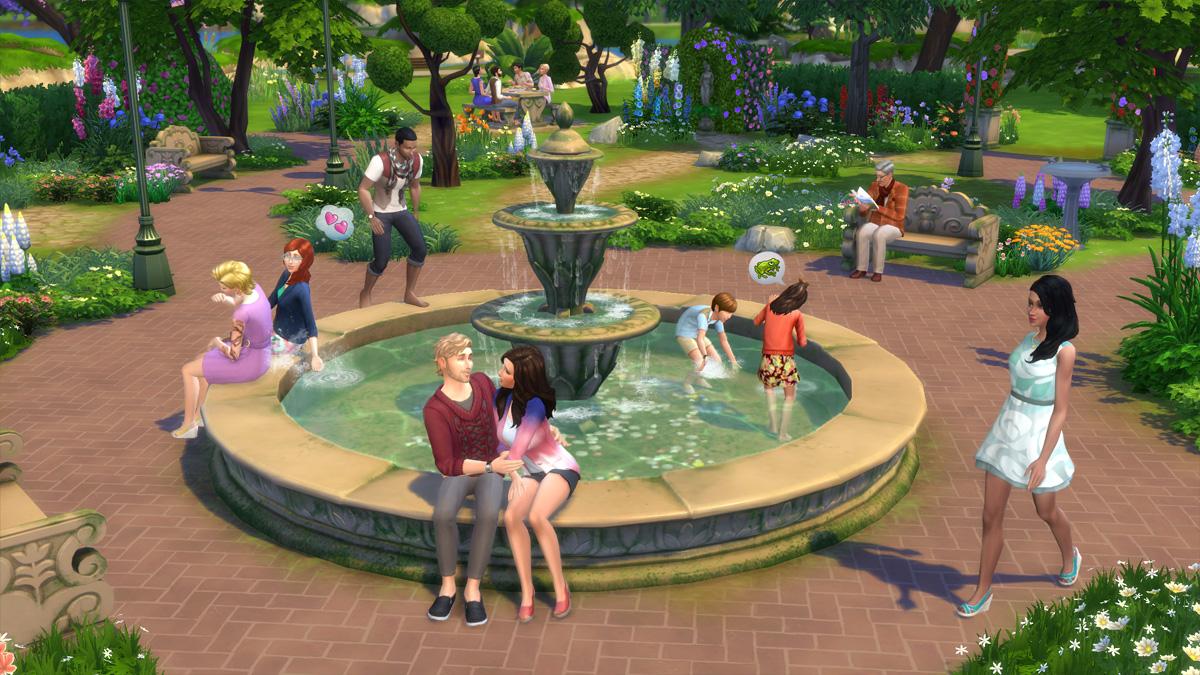 Die Sims 4 Romantische Garten Accessoires simension