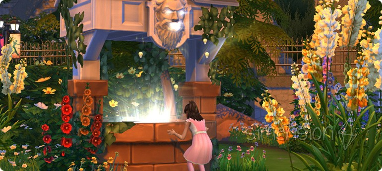 Fähigkeiten wünschen am Die Sims 4 Wunschbrunnen