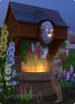 Die Sims 4 Wunschbrunnen mit negativem Ergebnis