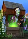 Die Sims 4 Wunschbrunnen mit positivem Ergebnis