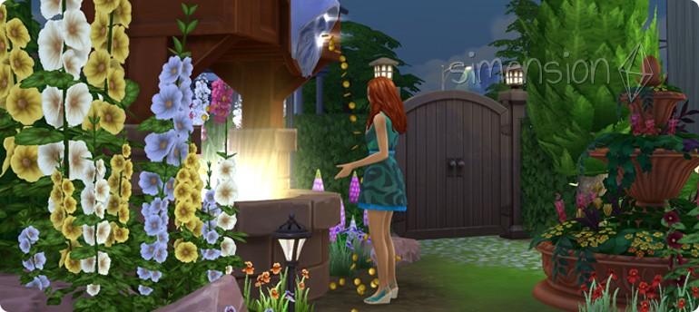 Simoleon wünschen am Die Sims 4 Wunschbrunnen