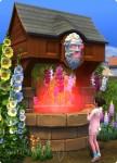 Die Sims 4 Wunschbrunnen mit unfassbar negativem Ergebnis