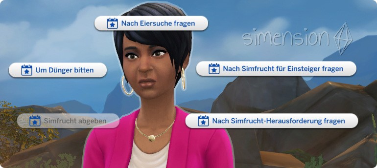 how to call jasmine holiday sims 4