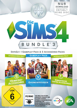 Die Sims 4 Bundle 3 Cover