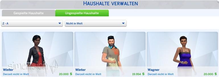 Automatische Löschung von Angestellen verhindern in Die Sims 4 Gaumenfreuden