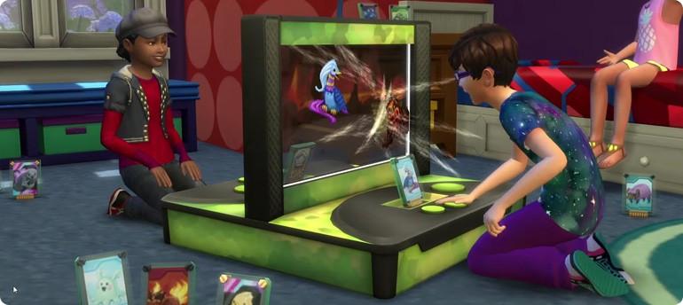 Die Sims 4 Kinderzimmer-Accessoires mit neuer Voidkreaturen-Kampfarena