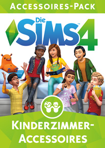 Die sims 4 Kinderzimmer-Accessoires Cover