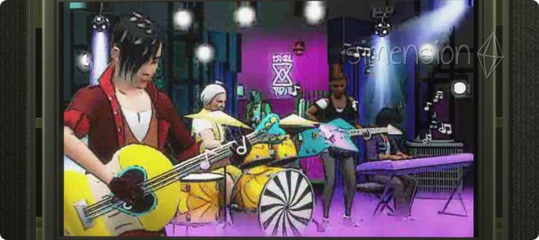 Musikvideo im neuen TV-Sender BEtween in Die Sims 4 Kinderziemmer-Accessoires