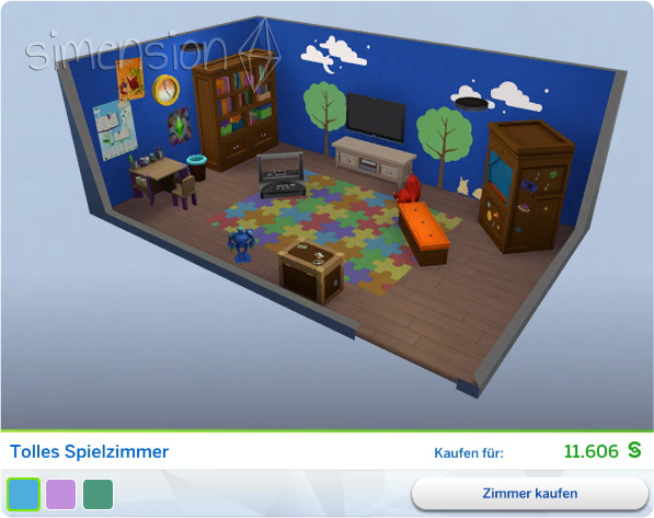 Die sims 4 kinderzimmer accessoires simension for Zimmer accessoires