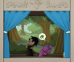 Die Sims 4 Puppentheater: Aufführung Das Wesen von Granite Falls