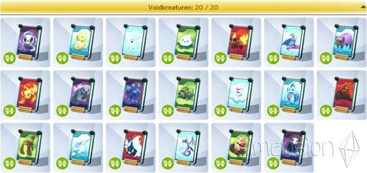 Die Sims 4 Sammlung Voidkreaturen in Kindergarten-Accessoires
