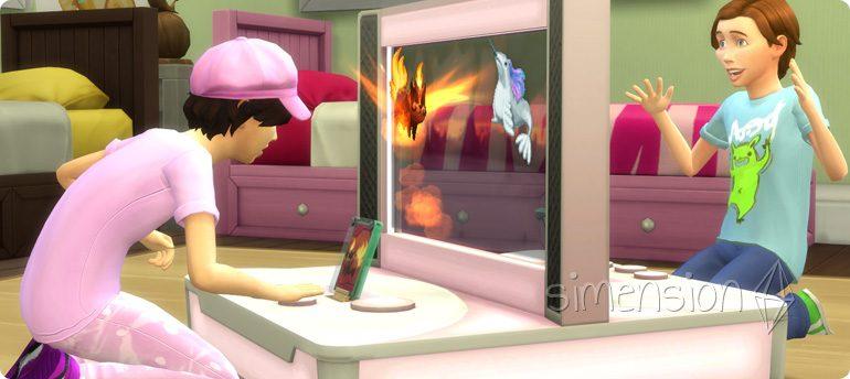 Die Sims 4 Voidkreaturen-Kampfarena