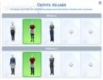 Outfit-Vorgaben für Kellner in Die Sims 4 Gaumenfreuden