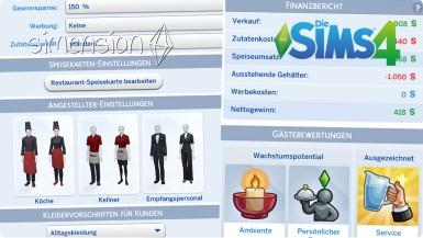 Die Sims 4 Restaurants