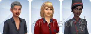 Restaurant-Angestellte in Die Sims 4 Gaumenfreuden