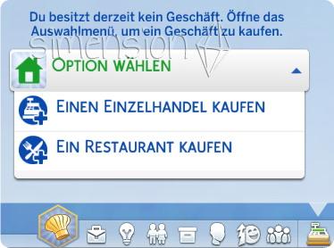 ein Restaurant kaufen in Die Sims 4 Gaumenfreuden