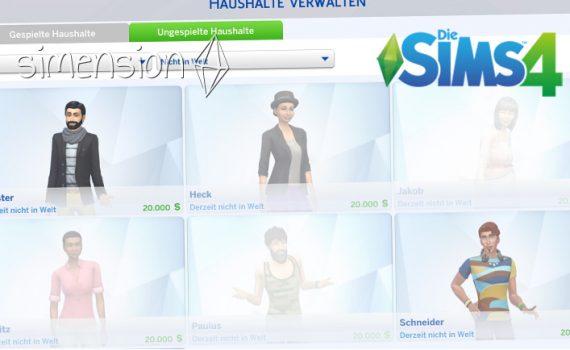 Warum verschwinden SIms in Die Sims 4