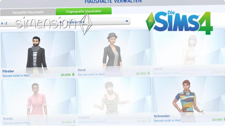 Warum Verschwinden Sims In Die Sims 4 Simension