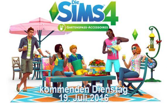 Die Sims 4 Gartenspaß-Accessoires angekündigt