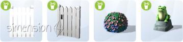 neue Objekte im Baumodus von Die Sims 4 Gartenspass-Accessoires