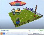 Die Sims 4 Gartenspass-Accessoires mit Gestalteten Zimmer Blütentraum(a)