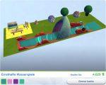 Die Sims 4 Gartenspass-Accessoires mit Gestalteten Zimmer Ernsthafte Wasserspiele