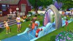 Wasserrutsche in Die Sims 4 Gartenspaß-Accessoires