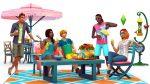 Die Sims 4 Gartenspaß-Accessoires mit sommerlichen Outfits